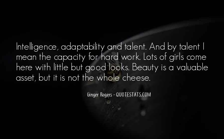 Quotes About Looks And Intelligence #1500344