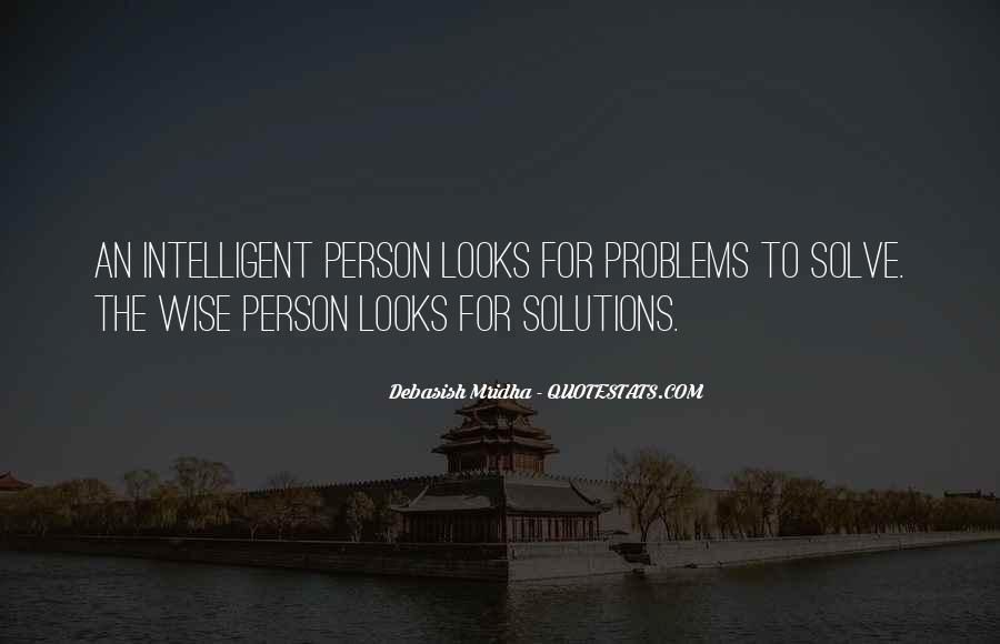 Quotes About Looks And Intelligence #164910