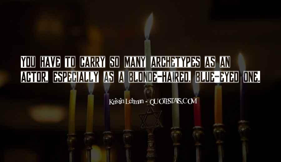 Quotes About Archetypes #719332