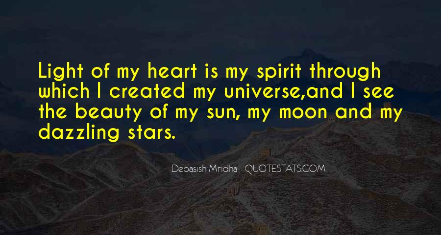 Quotes About The Moon Stars And Sun #107786