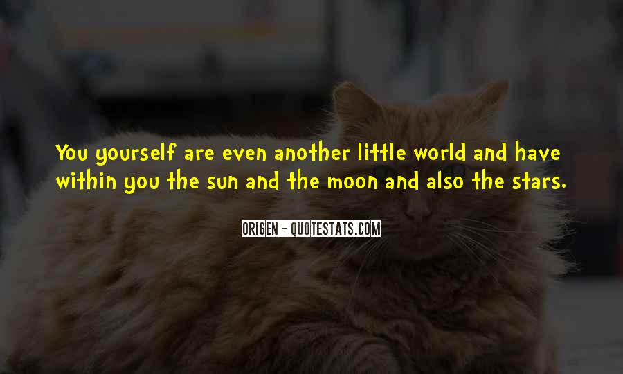 Quotes About The Moon Stars And Sun #1148282