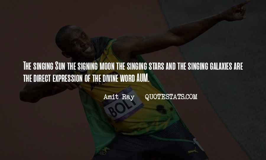 Quotes About The Moon Stars And Sun #1447445