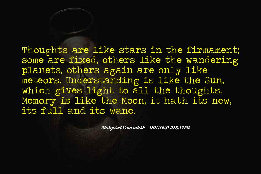 Quotes About The Moon Stars And Sun #955280