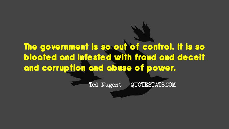 Quotes About Corruption In Government #1048737