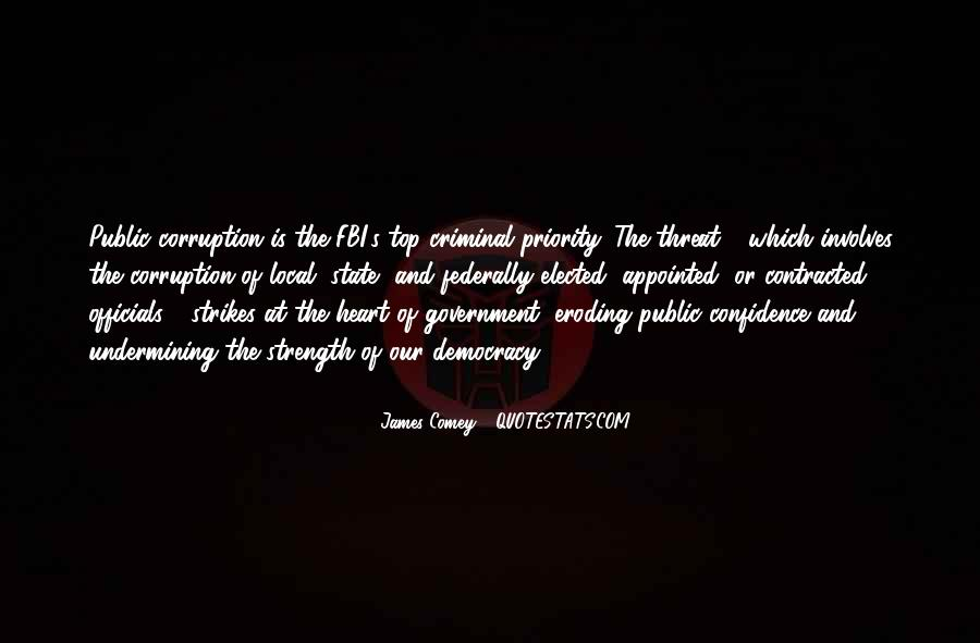 Quotes About Corruption In Government #1074614