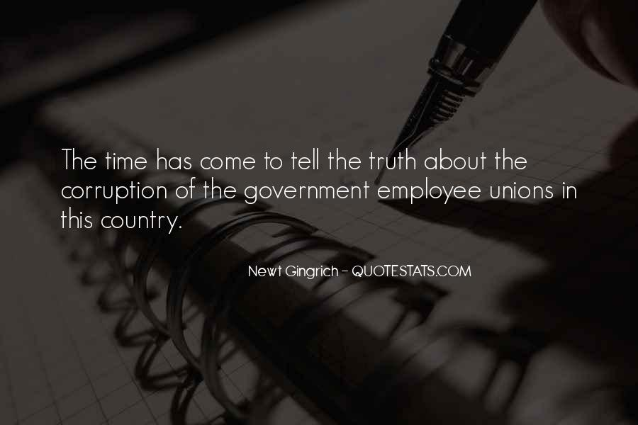 Quotes About Corruption In Government #1114130