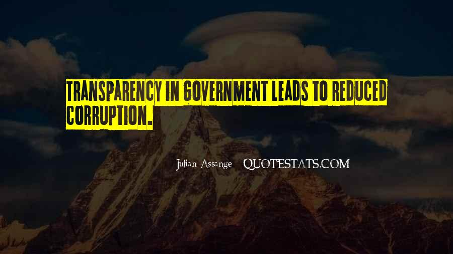 Quotes About Corruption In Government #192261