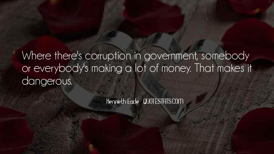 Quotes About Corruption In Government #300946