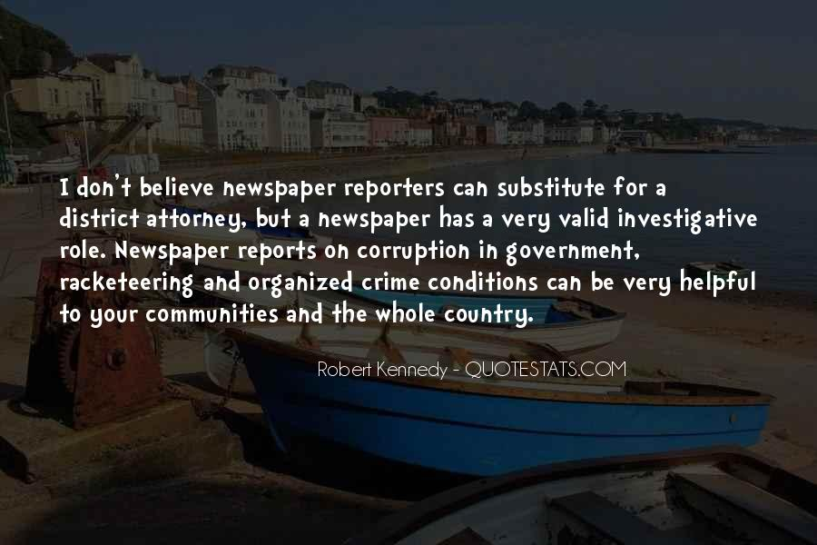 Quotes About Corruption In Government #450748
