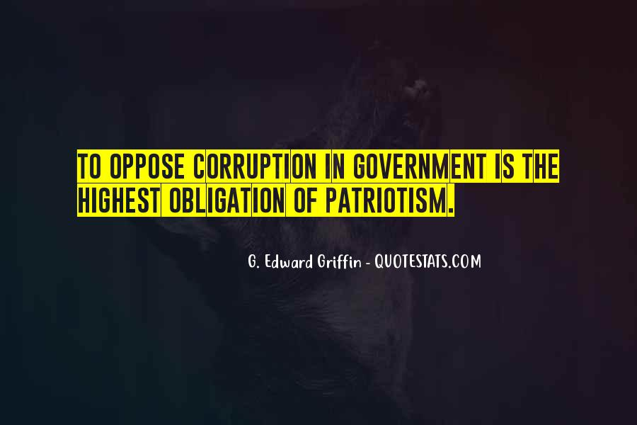 Quotes About Corruption In Government #488715