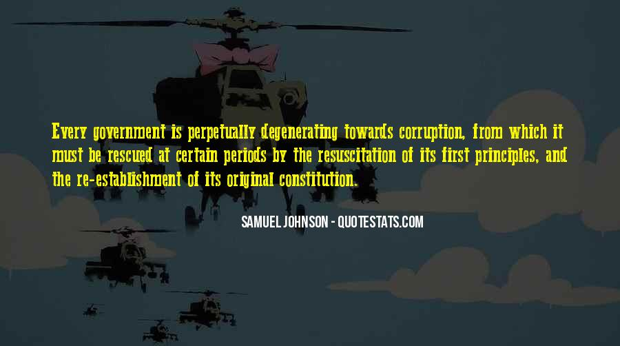 Quotes About Corruption In Government #538645