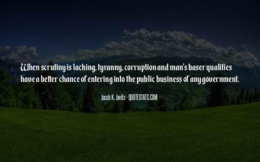 Quotes About Corruption In Government #598874