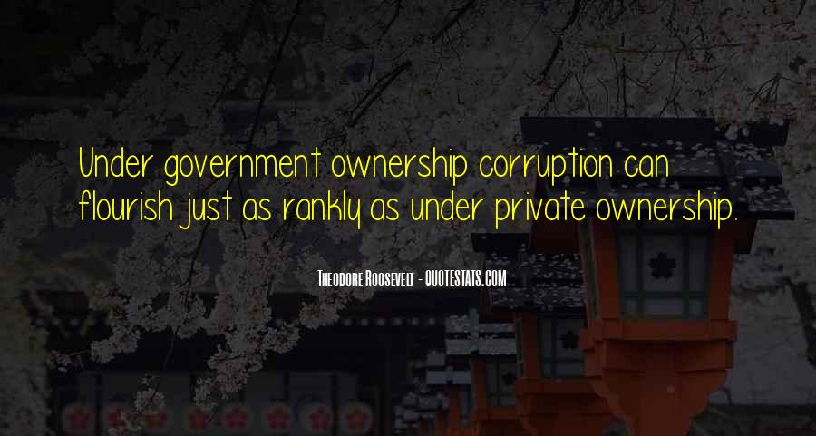 Quotes About Corruption In Government #6509
