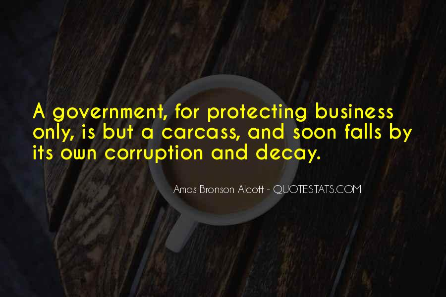 Quotes About Corruption In Government #820789