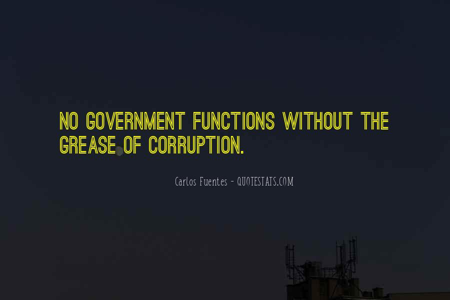 Quotes About Corruption In Government #877855