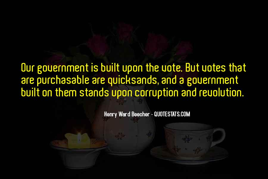 Quotes About Corruption In Government #9045