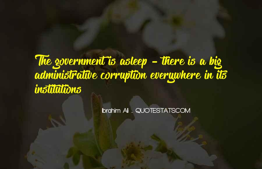 Quotes About Corruption In Government #924997