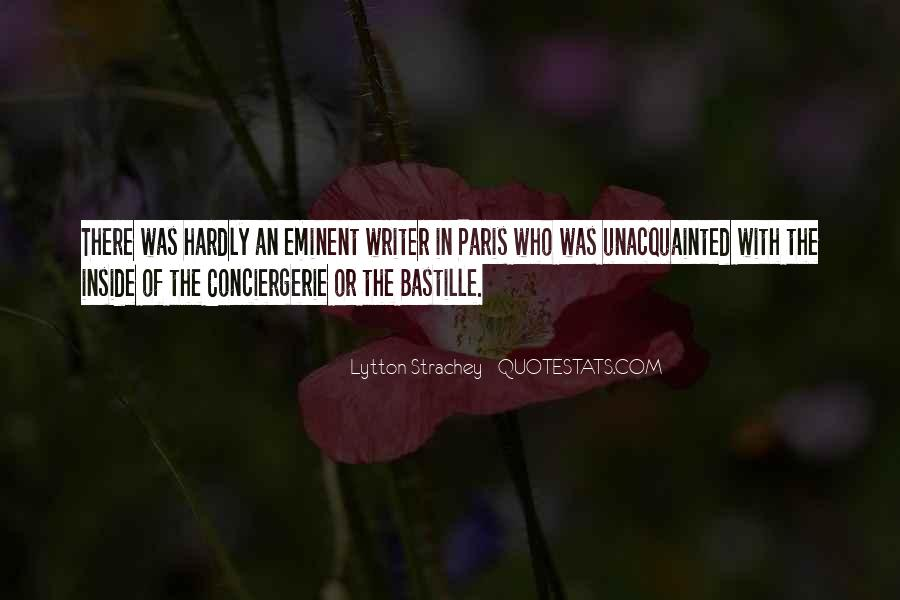Quotes About Bastille #1411445
