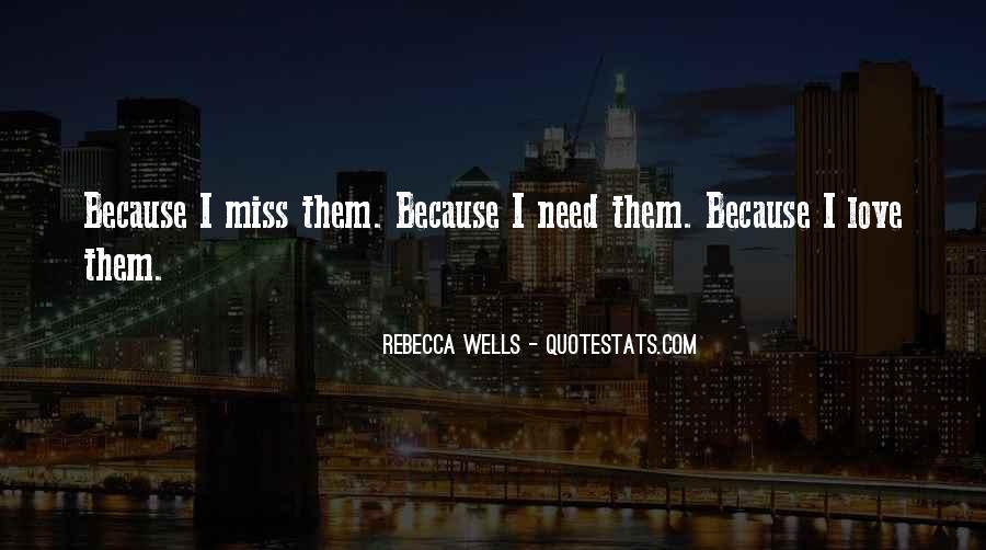 Quotes About Miss You Love #153290