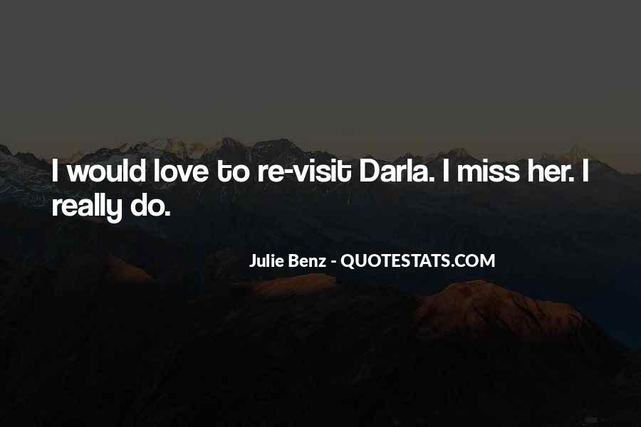 Quotes About Miss You Love #323452