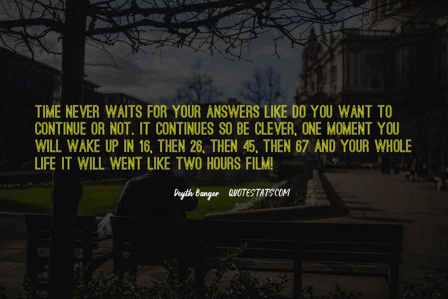 Quotes About One Moment In Time #1078145