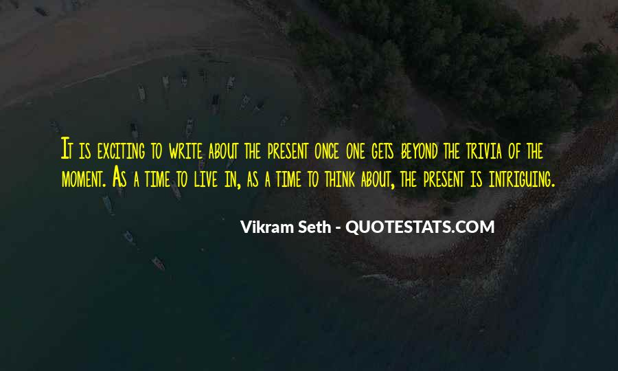Quotes About One Moment In Time #165583