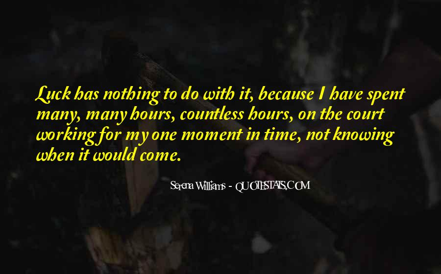 Quotes About One Moment In Time #175563