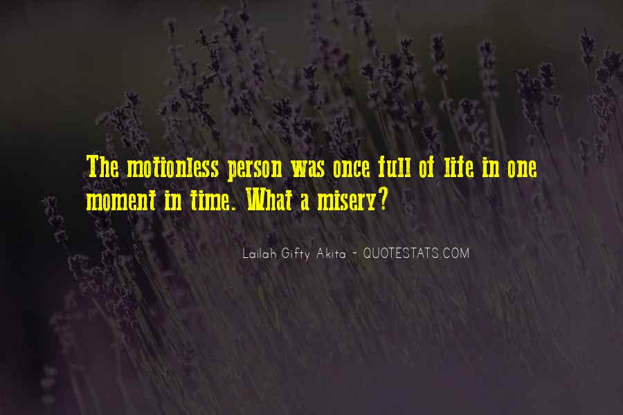 Quotes About One Moment In Time #549159