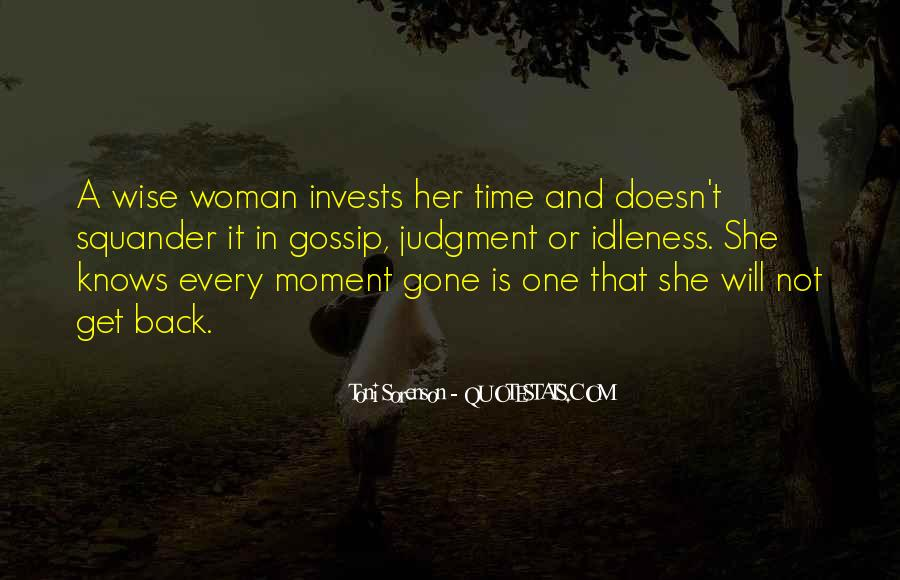 Quotes About One Moment In Time #977149