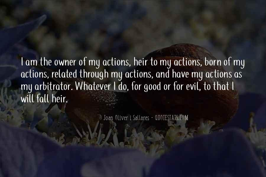 Quotes About Evil And Karma #1123673