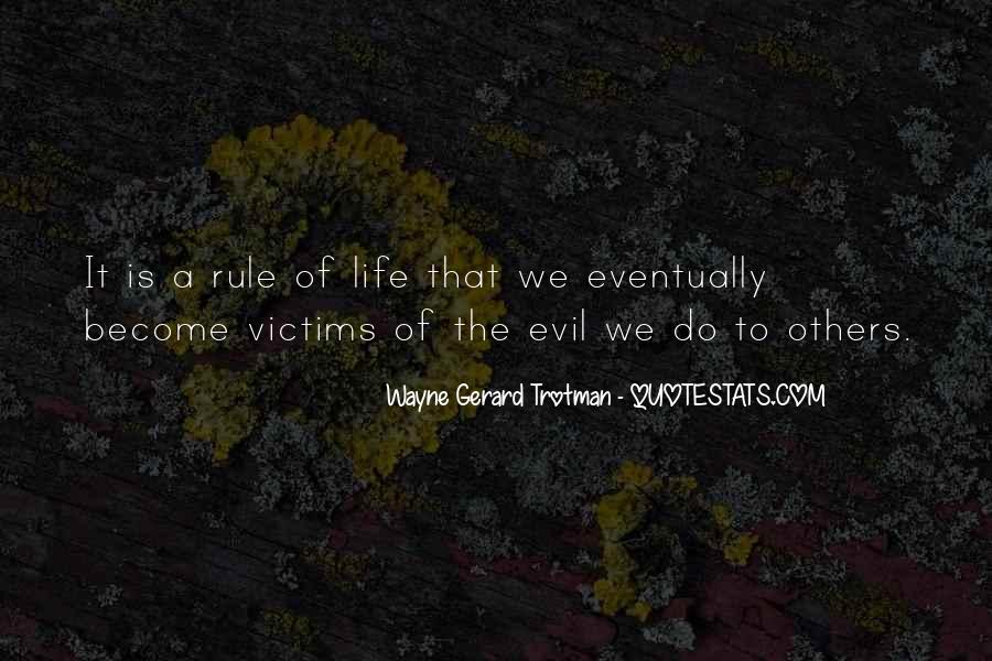 Quotes About Evil And Karma #1572589