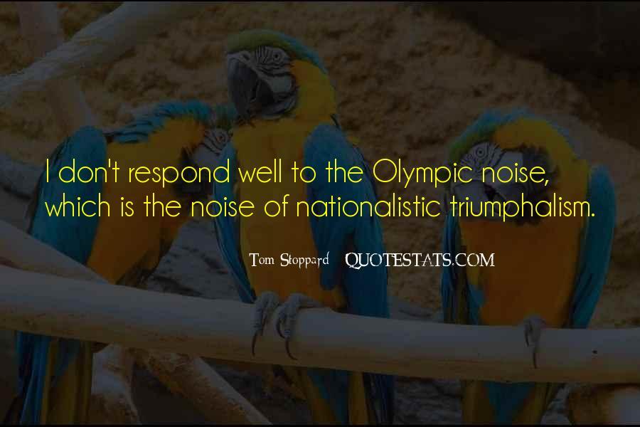 Quotes About Triumphalism #1176614