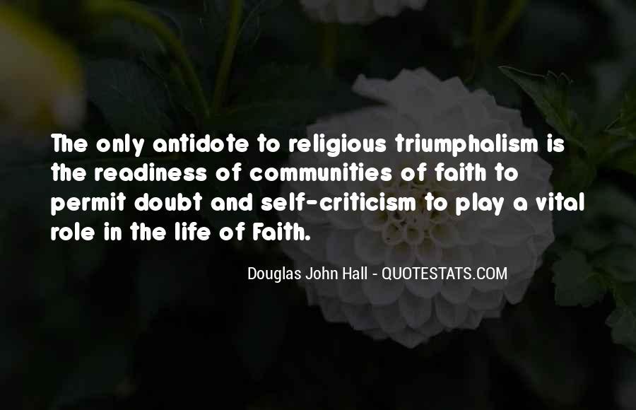Quotes About Triumphalism #1362419