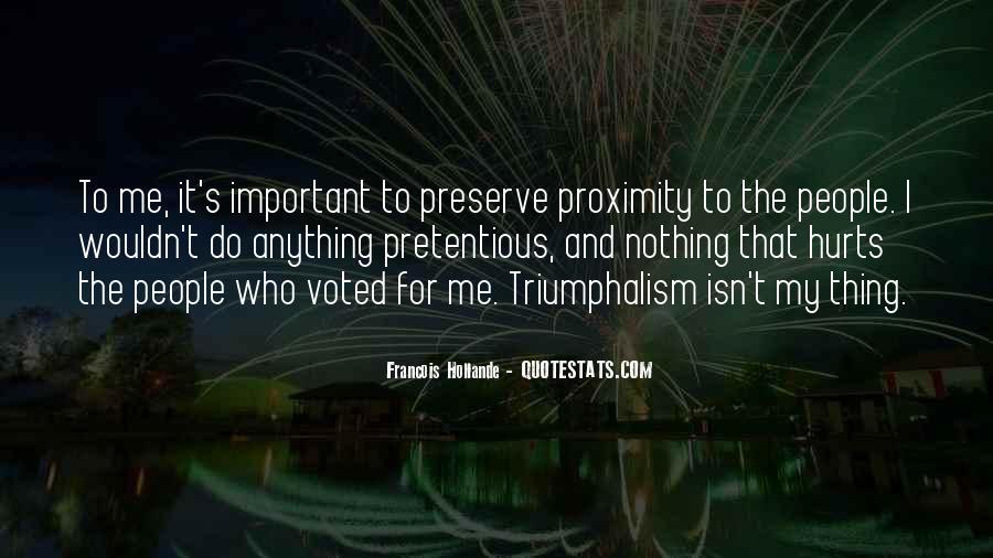 Quotes About Triumphalism #503297