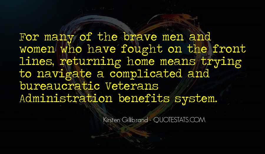 Quotes About Veterans Returning Home #928960