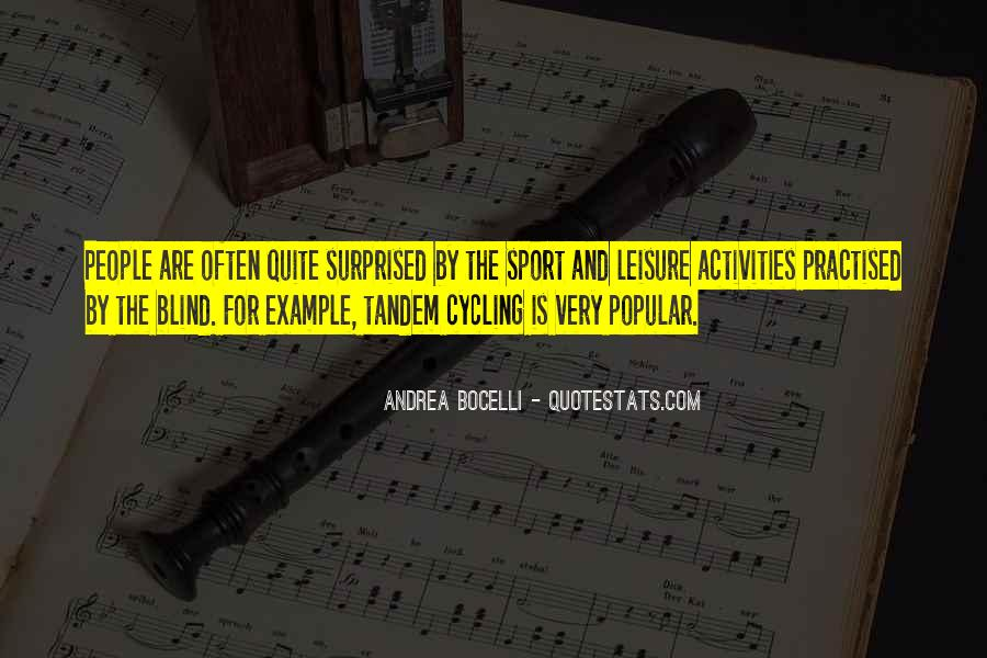 Quotes About Tandem #1225825
