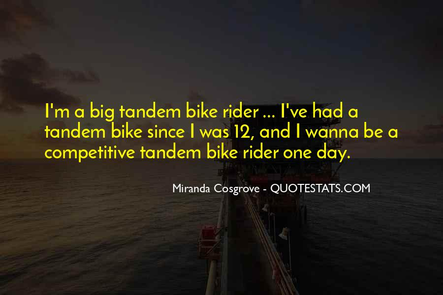 Quotes About Tandem #970109