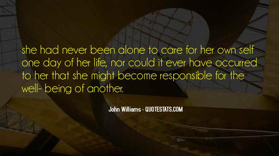 Quotes About Being The One For Her #610807