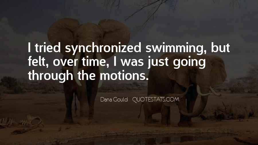 Quotes About Synchronized Swimming #974213