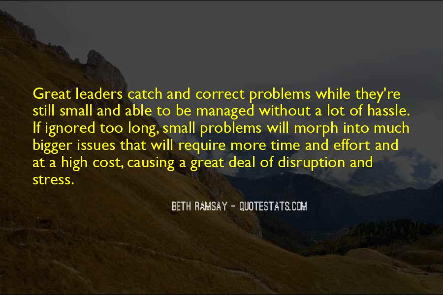 Quotes About Issues Management #1438806