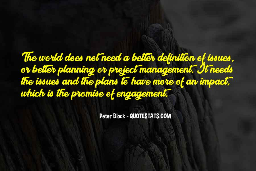 Quotes About Issues Management #1680804
