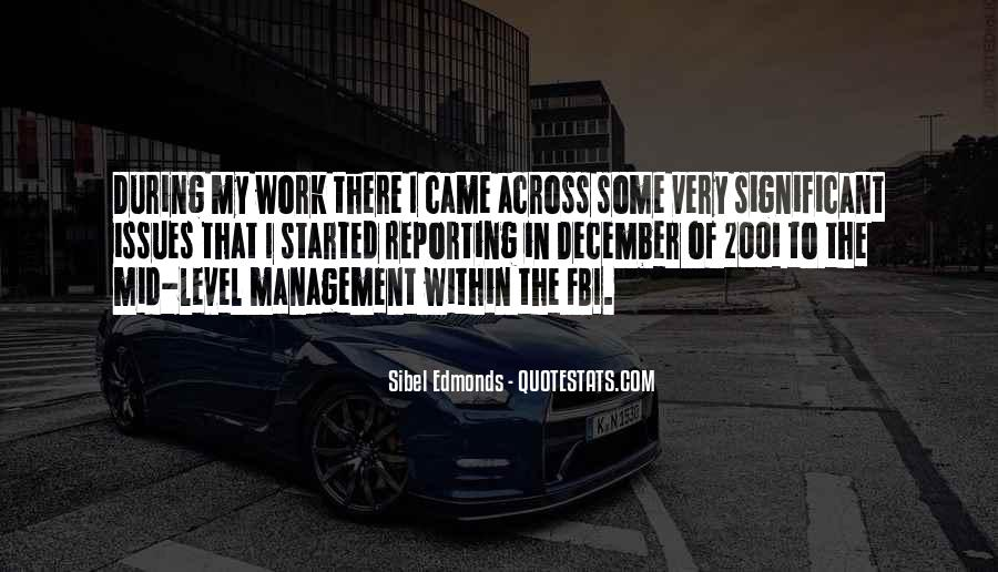 Quotes About Issues Management #736721