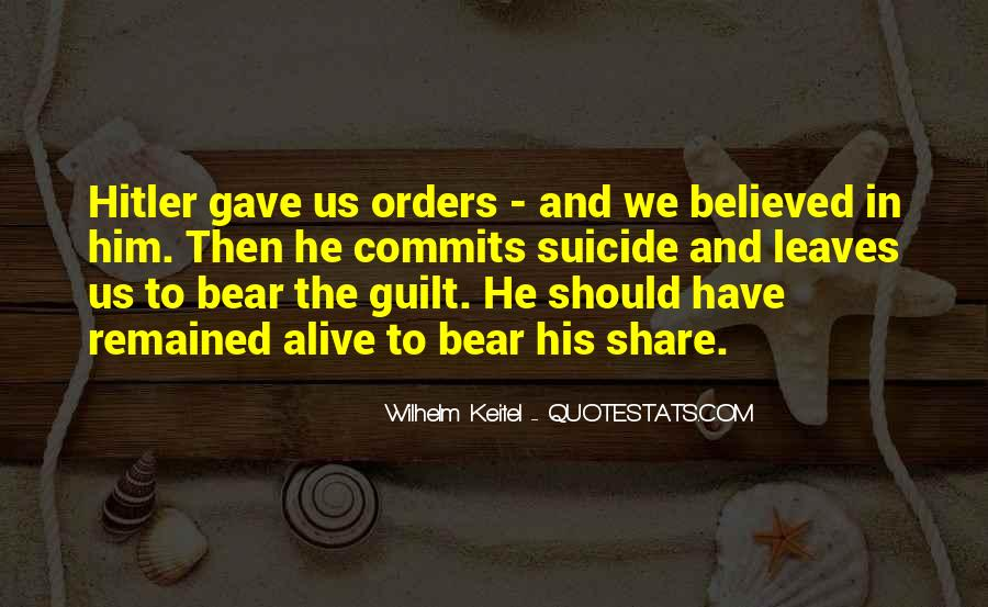 Quotes About Guilt #12381