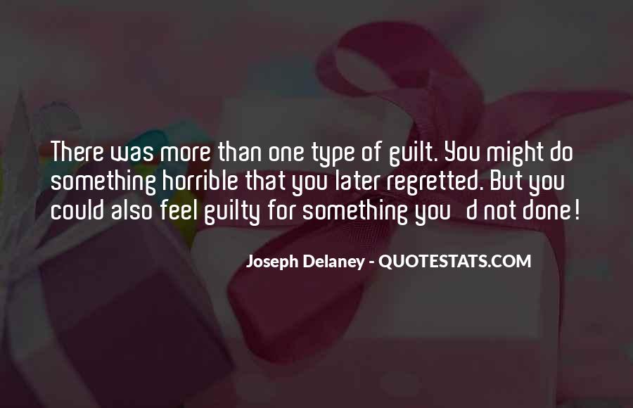 Quotes About Guilt #20076