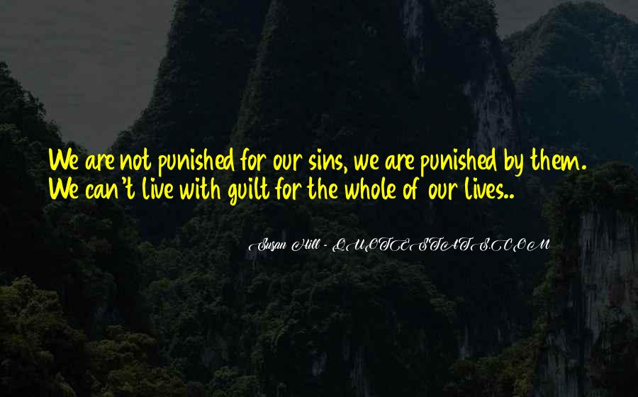 Quotes About Guilt #25511