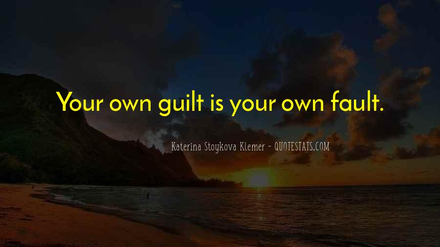 Quotes About Guilt #61339