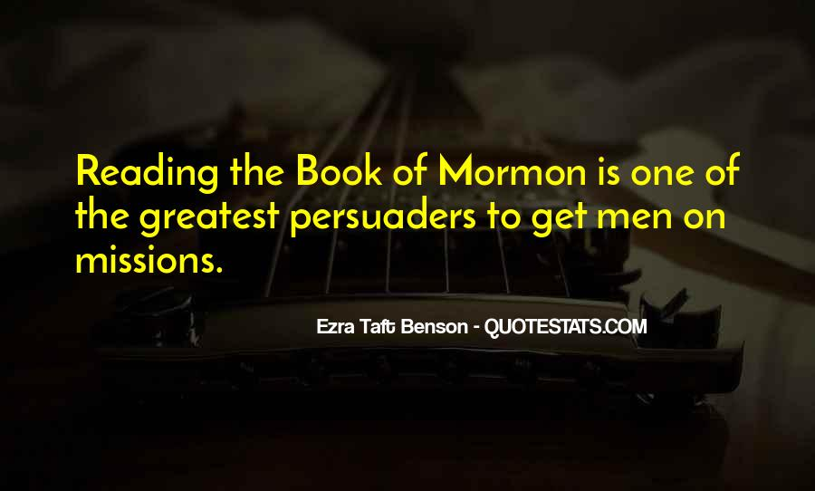 Quotes About Reading The Book Of Mormon #1757424