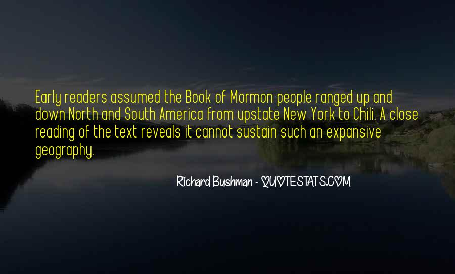 Quotes About Reading The Book Of Mormon #205790