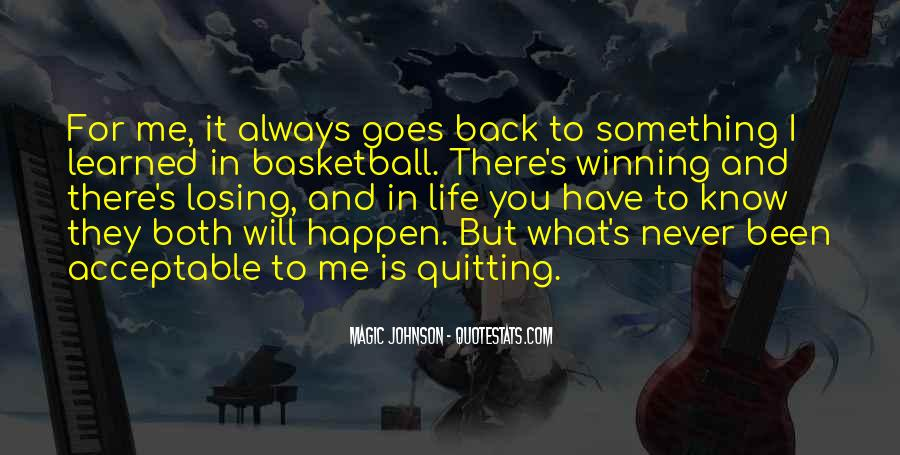 Quotes About Not Quitting Life #1300942