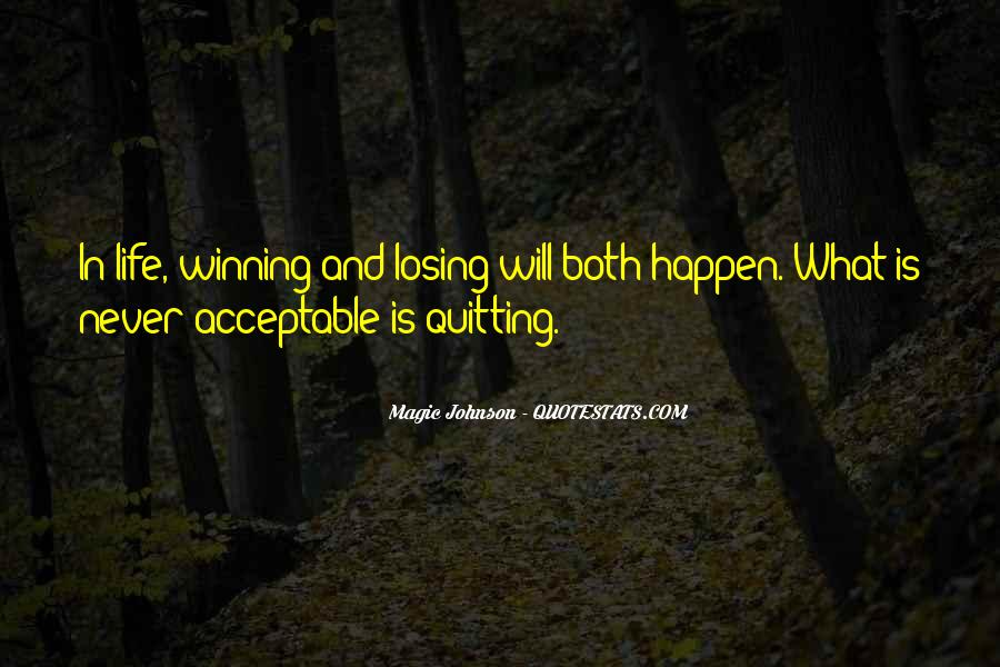 Quotes About Not Quitting Life #1640758